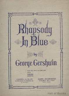 Rhapsody In Blue: Piano Solo by George Gershwin
