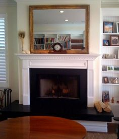 Hillsboro Fireplace Mantel Standard Sizes