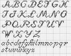 Billedresultat for broderet bogstaver opskrift