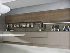 Descarregue o catálogo e solicite preços de System | composition 06 by Pedini, cozinha lacada linear, coleção System
