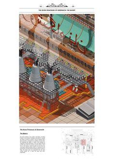 Aryan Tehrani Architecture Architecture Graphics, Architecture Drawings, School Architecture, Architecture Design, Axonometric Drawing, Tropical Interior, Portfolio Design, Installation Art, Designs To Draw
