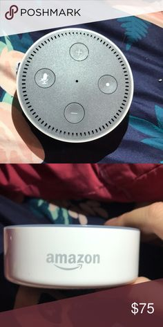 Echo dot from amazon,the charger is included☺️ Voice control,and It's just like Alexia!! Also in good condition Other