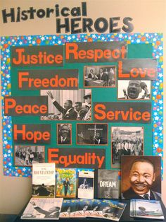 Social Studies Classroom Decorations | Justice, Respect, Feedom, Love, Peace, Service, Hope,Equality.