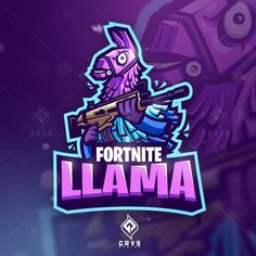 Fortnite llama by @grvs.design  Follow us @logoplace and contact us on email to order the... #logotype #logomark #graphicdesign #dribbble #logonew #brandidentity #symbol #businesslogo #logogrid #logoinspire #logoinspirations #branding #logoplace #logopassion #logoprocess #glacreative #logosai #dailylogo Arte Nerd, Game Wallpaper Iphone, Best Gaming Wallpapers, Logo Process, Game Logo Design, Esports Logo, Epic Games Fortnite, Mascot Design, Cartoon Games