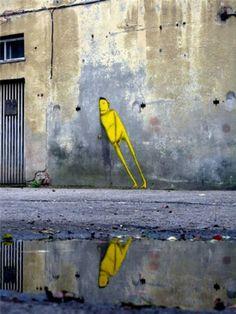 by graffiti artists' Otavio and Gustavo Pandolfo, also known as Os Gêmeos (The Twins)