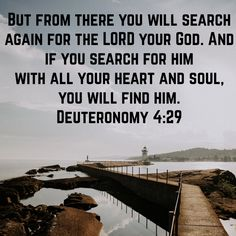 Do you want to hear from God? Search with all your heart