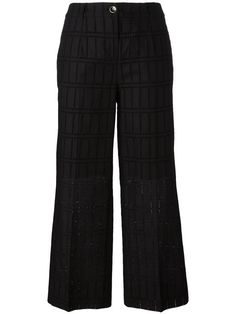 BLUMARINE cropped trousers. #blumarine #cloth #trousers