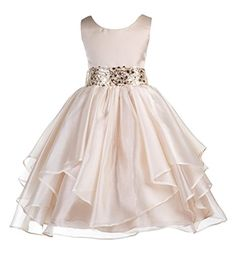 Wedding Asymmetric Ruffles Satin Organza Flower girl dres... https://www.amazon.ca/dp/B01C4TMSKY/ref=cm_sw_r_pi_dp_b8snxbFVGBQK1