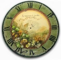 A Garden House Clock packet - Patricia Rawlinson This packet contains detailed instructions, picture(s), supply and paint list, as well as a pattern.