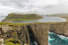 Sorvagsvatn Lake Faroe Islands