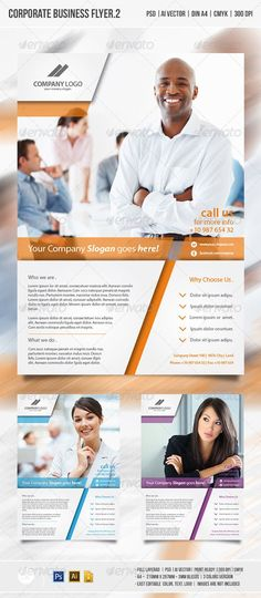 Corporate Business Flyer vol.2