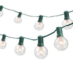 25 ft. Indoor/Outdoor Weatherproof Party String Lights with 25 Sockets Light Bulbs Included