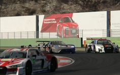 Assetto Corsa - Racing Ford GT LMS x Audi R8 LMS GT3