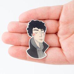 Broche de Sherlock por andsmile en Etsy