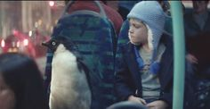 Let this Monty the Penguin holiday commercial melt your heart!
