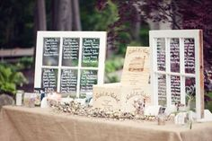 Window Programs? :  wedding ceremony programs diy programs rustic wedding paper window program Seating Chart
