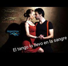El #tango lo llevo en la sangre. Apóyame en la difusión #gratis del #TangoArgentino con #MeGusta en https://facebook.com/airesdemilonga