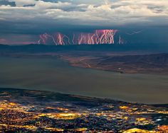 35 Amazing Photos of Thunderstorms That Show Just How Breathtaking Nature Can Be Mount Timpanogas, Utah, USA by William Church