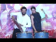 BANJO trailer launch   Riteish Deshmukh, Nargis Fakhri.