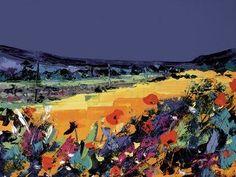 Summer Meadow by Duncan MacGregor Landscape Artwork, Flower Art, Art Flowers, Wedding Wishes, Online Gallery, Print Artist, Painting & Drawing, Framed Art, Fine Art