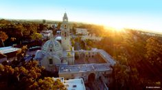 San Diego Reader  -   Another sweet aerial shot from Aldryn Estacio. Sunrise over Balboa Park in gorgeous San Diego, California.