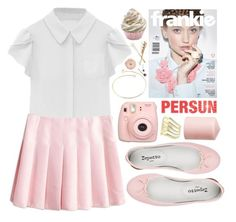 """Girly"" by ruska-10 ❤ liked on Polyvore featuring Repetto and H&M"