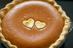 Old fashion pumpkin pie with bourbon whipped cream.