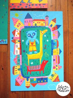 Solenne et Thomas - Studio Tomso - illustration jeunesse