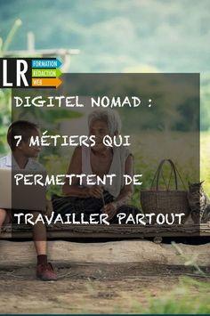 Vous rêvez de devenir digital nomad (nomade digital) ? Ce statut idéal permet de travailler d'où l'on veut, quand on veut ! Découvrez tout de suite les métiers qui permettent d'être digital nomad.