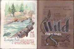 Same stop, same river, by Gay Kraeger