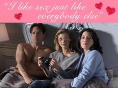 Three isn't a crowd this #ValentinesDay. Jan knows best.  #StephenMoyer #CaitlinGerard #WIGSValentines
