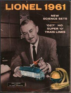 Lionel Trains catalog cover 1961