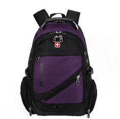 New 2017 Quality Waterproof Nylon Swissgear Backpack Men 15 inch Laptop Bag