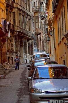 Galata street, some of the oldest streets in ancient Constantinople are here with their cobblestones worn by Byzantine chariots, crazy crazy.