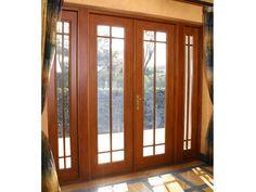 Wooden Window Design, Wooden Windows, Main Entrance Door Design, Entrance Doors, Aluminium French Doors, House, China, Home Decor, Gardens