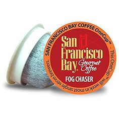 San Francisco Bay OneCup, Espresso Roast, Single Serve Coffee, Compatible with Keurig K-cup Brewers, 24 Count Coffee K Cups, Coffee Pods, Decaf Coffee, Coffee Drinks, Single Serve Coffee, Flavored Oils, San Francisco Bay, Dark Roast, Coffee Roasting