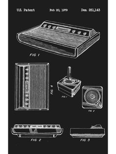 Atari Original Video Game Console