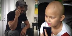 """Luis Fonsi llamó a la niña con cáncer que lo hizo llorar bailando """"Despacito""""… #Internacionales #cancer #Despacito #famosos #LaFarándula"""