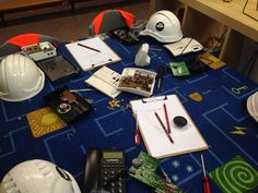 Tinkering with hard hats, gaskets, goggles and clipboards ≈≈