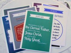 A Lively Hope: 2015 LDS Primary Outline Theme and Scripture {Free Printable}