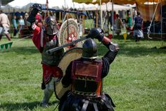 The 31st annual June Faire is a renaissance faire held in Port Gamble, WA about 20 miles northwest of Seattle. The June Faire includes combat tournaments, blacksmithing, woodworking, cooking, fiber arts, archery ranges and more. June 1st 2013. (Joshua Lewis / KOMO News)