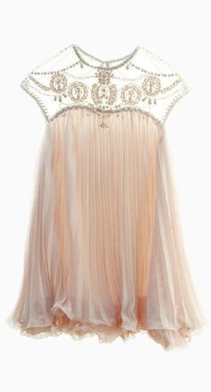 Delicate blush dress