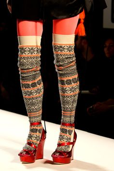 fair isle - don't know that i would wear them, but i think they're kinda cute