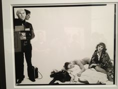 A meeting of masters. #AndyWarhol by #Avedon at @Gagosian Gallery. #FNY12