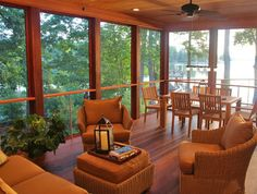 Enclosed Porch Design Ideas, Pictures, Remodel, and Decor - page 23