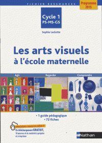 Les arts visuels à l'école maternelle Cycle 1 PS-MS-GS. Agir, regarder, comprendre / Sophie Laclotte. Nathan, 2016.                 372.21 LAC                        https://buweb.univ-orleans.fr/ipac20/ipac.jsp?session=147V4O904W800.1062&menu=search&aspect=subtab66&npp=10&ipp=25&spp=20&profile=scd&ri=1&source=%7E%21la_source&index=.IN&term=978-2-09-124322-1&x=0&y=0&aspect=subtab66