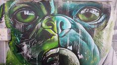 Street Art dans les rues de La Seyne sur Mer (France)