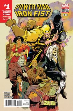 POWER MAN AND IRON FIST #10 NOW (2016)