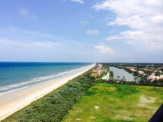 Beautiful day by the beach at the Hammock Resort in Palm Coast, Fl