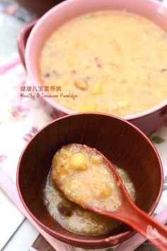健康八宝营养粥 Heathy 8 Treasures Porridge